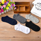 5PCs Men's Winter Warm Socks Low Cut Ankle Socks Cotton Invisible No Show Socks