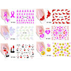 Feather Decal Water Transfer Manicure Nail Art Stickers DIY Tips Decoration