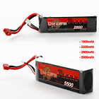 1500mAh to 5500mAh 11.1V 3S 30C 25C LiPo Battery Pack Deans for RC Heli Truck