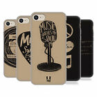 HEAD CASE DESIGNS POWER OF MUSIC SOFT GEL CASE FOR APPLE iPHONE 7