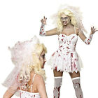 Bloody Adult Curves Zombie Nurse Costume Ladies Halloween Fancy Dress Outfit