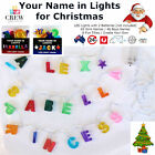 New LED Christmas Lights  | Xmas Tree | GIRLS Names | Personalised Novelty Gift