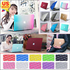 """2in1 Marble Silk Leather Rainbow Matte Case for MacBook Pro 13""""A1278 2009-2012"""