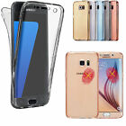 Samsung Galaxy Phone Case Shockproof 360° Silicone Protective Clear Case Cover