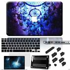 "4in1 Galaxy Dream Catcher Rubberized Hard Case Cover For Macbook Pro Air 13"" 15"""
