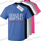 Geniu By Birth Touchy By Choice.! Funny T Shirt Brand New Gifts tshirts Him, Her
