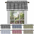 Country Plaid Window Valance Treatment by GoodGram® - Assorted Colors