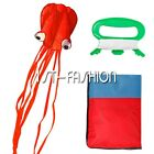 Mr. Octopus Rainbow Long Tail Kite Outdoor Fun Sports Beach Children Fly Toys