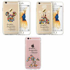 Disney All Characters Movie Fan Art  Original Silicone Case Cover iPhone Series