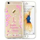 Disney Tinkerbell Fairy Blossom Soft Rubber Case Cover For iPhone 6 6s 6s Plus