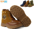 New Fashion Children Martin Boots Kids Students Winter Warm Short Boots Shoes