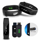 OLED ID101 Bluetooth Smart Watch Wristband Bracelet Heart Rate Fitness Tracker