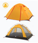 Family Camping Tent 2-4 Persons Outdoor Double Layer Rainproof Windproof Tent