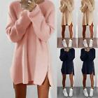 Women Long Sleeve Sweater Jumper Party Tops Loose Blouse Shirt Pullover