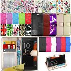 For Sony Xperia XZ  - Wallet Leather Case Flip Book Cover + Screen Protector