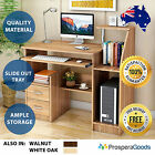 NEW Computer Desk Compact Study Home Office Shelves Drawer Storage Student
