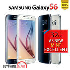 AS NEW SPOTLESS Samsung Galaxy S6 Smartphone 4G LTE 32 64GB Unlocked
