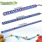 54w/81w/108w PopularGrow Blue White LED Aquarium Light Bar Fish Tank Plant Coral