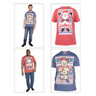 Duke D555 Snowflake Mens Santa Or Gingerbread Christmas Novelty Festive T Shirts