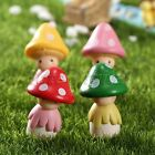 Miniature Dollhouse Mushroom Doll Figurine Plant Pot Fairy Garden Ornament Craft