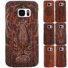 Luxury 100% Natural Wooden Wood Bamboo Slim Hard Case For Samsung Galaxy S7 Edge