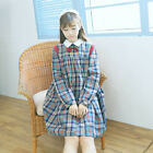 Japanese Style Palace Cute Girl Bow Tie Lolita Dress Skirt Retro Uniform
