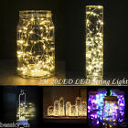 Cheap! 2M 20LED Fairy String Lights Button Cell Powered Copper Wire Mini Light