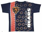 Chicago Bears Vertical Logo Design NFL T Shirt SHIPS FAST TOTAL CLOSEOUT