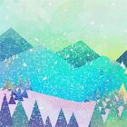 3D Christmas Snow Nature Wall Paper wall Print Decal Wall Deco Indoor wall Mural