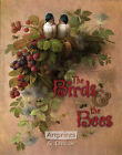 Bird, Bees & Berries by Paul De Longpre (Art Print of Vintage Art)