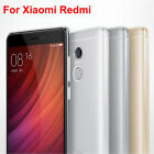 Shockproof Ultra Slim Hybrid Rubber Clear Soft Case Skin Cover For Xiaomi Redmi