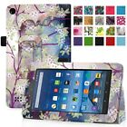 """PU Leather Case Cover For 7"""" Amazo Kindle Fire 7 ( 5th Generation,2015 ) Tablet"""