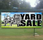 YARD SALE Advertising Vinyl Banner Flag Sign - Many Sizes Av