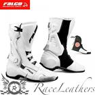 FALCO ESO PRO 2 WHITE MOTORCYCLE BOOTS CHEAP SALE CLEARANCE RRP 249.99
