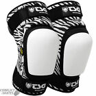"TSG ""Roller Derby VEP"" Knee Pads Rollerskate L or XL SALE ZEBRA Protection"