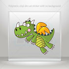 Decal Sticker Fairytale Happy Dragon Car Motorbike Bike vinyl bike mtv X58ZK