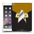OFFICIAL STAR TREK UNIFORMS AND BADGES DS9 HARD BACK CASE FOR APPLE iPAD
