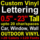 Kyпить Custom Vinyl Lettering Personalized Custom Vinyl Decal Sticker Window Wall Name на еВаy.соm