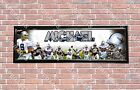 Personalized Customized Dallas Cowboys Name Poster Sport Banner with Frame Set $35.0 USD on eBay