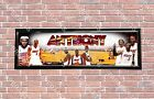 Personalized Customized NBA Miami Heat Name Poster Sport Banner with Frame Set on eBay