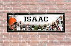 Personalized Customized Cleveland Browns Name Poster Sport Banner with Frame $37.0 USD on eBay