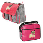 David & Goliath School College Girls Childrens, You So Pugly Messenger Bag