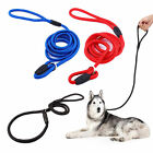 1/2/3PCS Pet Dog Nylon Rope Training Collar Leash Lead Strap Adjustable Traction