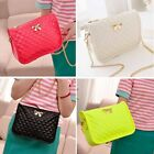 Fashion Women Synthetic Leather Casual Bow Shoulder Bag Cross Bag Handbag