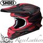 SHOEI VFXW HECTIC TC1 MATT RED MX MOTOCROSS MOTORCYCLE DIRT BIKE HELMET