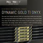 New True Temper Dynamic Gold Tour Issue Black Onyx Wedge Steel Shaft S400