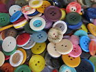 50g 100g 200g Mixed Buttons Many Colours Sizes Cards Art Craft Sewing