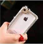 Fashion Bling Crystal Diamond Pattern Rigid Plastic Case Cover For Cell Phones