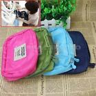 Travel Makeup Case Cosmetic Bag Zip Organizer Toiletry Pouch Storage For Women