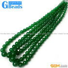 6-14mm Colorful Graduated Jade Semi Necklace Beads For Jewelry Making Strand 15""